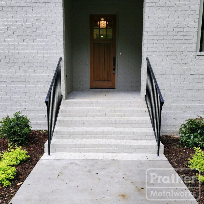 12 Temple Hills Standard Iron Handrail Exterior Front